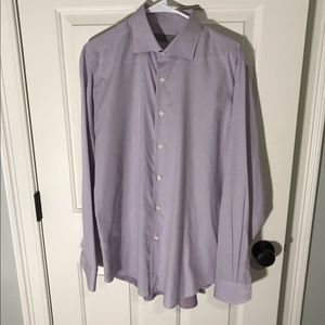 Authentic Canali Dress Shirt Neck Size 16 34/35